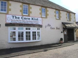 Corn Kist outside
